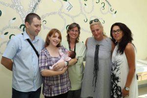 """Анна – Първото бебе на нашето семейство – Фондация """"Майки за донорството""""!"""
