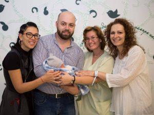 Мартин с приказните си родители Мими и Коце