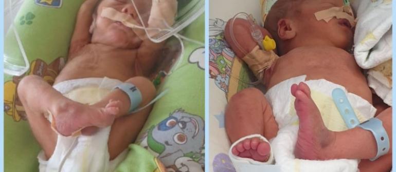 Родиха се и първите ни бебета от инициативата ни с  KIA Bulgaria – Николай и Виктор ❤